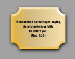 AccordingToYourFaith-Plaque
